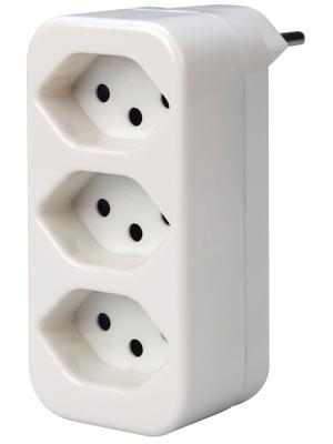 Steffen - 14 9759 0 - Outlet tap 3-in CH white 1 x Type 12, 14 9759 0, Steffen