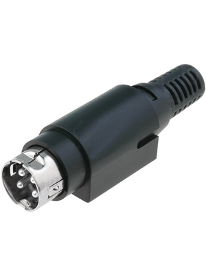 - MDP-402-4P - Cable connector, 4-pin Poles=4, MDP-402-4P