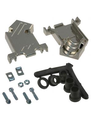 3M - 3357-6509-1C - D-Sub metallized hood 9P, 3357-6509-1C, 3M