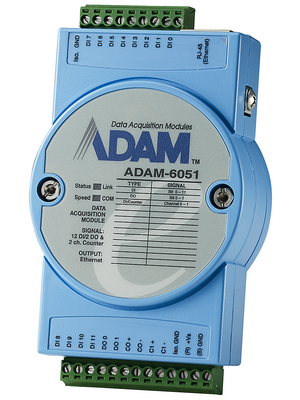 Advantech - ADAM-6051-CE - 14-Ch I/O-Ethernet-Module 12 2, ADAM-6051-CE, Advantech
