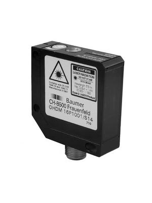 Baumer Electric - OHDM 16P5001/S14 - Photoelectric Sensor 25...300 mm PNP, antivalent, 10236806, OHDM 16P5001/S14, Baumer Electric