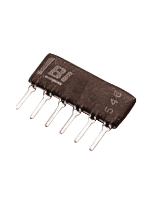 BI Technologies - D6-3A - Diode array 3 Diodes 6 Pins Common anode 100 mA, D6-3A, BI Technologies