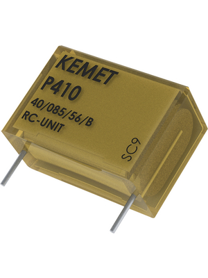 KEMET - P410CJ473M300AH101 - X1 capacitor,  47 nF, 300 VAC, P410CJ473M300AH101, KEMET