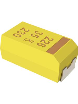 KEMET - T491X686M020AT - Tantalum capacitor 68 uF 20 VDC, T491X686M020AT, KEMET