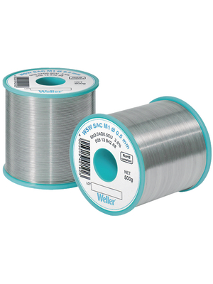 Weller - WSW SAC L0 0.3MM, 100G - Solder wire Sn96.5/Ag3/Cu0.5 100 g 0.3 mm, WSW SAC L0 0.3MM, 100G, Weller