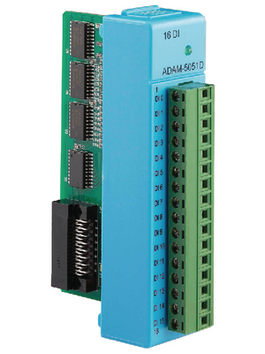Advantech - ADAM-5051D-BE - 16-Ch DI Module w/ LED 16, ADAM-5051D-BE, Advantech