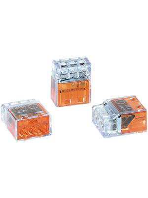 HellermannTyton - HECP-3 - Socket terminal Poles=3, 0.5...2.5 mm2 - 148-90001, HECP-3, HellermannTyton