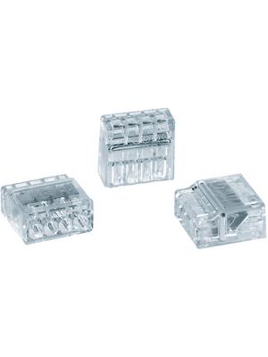 HellermannTyton - HECP-4 - Socket terminal Poles=4, 0.5...2.5 mm2 - 148-90002, HECP-4, HellermannTyton