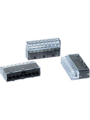 HellermannTyton - HECP-8 - Socket terminal Poles=8, 0.5...2.5 mm2 - 148-90005, HECP-8, HellermannTyton