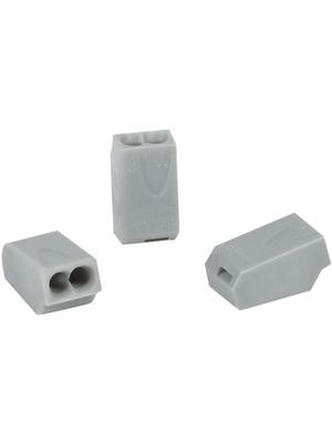 HellermannTyton - HECE-2 - Socket terminal Poles=2, 1...2.5 mm2 - 148-90006, HECE-2, HellermannTyton
