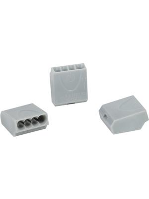 HellermannTyton - HECE-4 - Socket terminal Poles=4, 1...2.5 mm2 - 148-90008, HECE-4, HellermannTyton