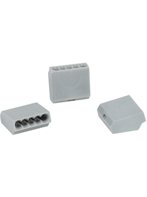 HellermannTyton - HECE-5 - Socket terminal Poles=5, 1...2.5 mm2 - 148-90009, HECE-5, HellermannTyton