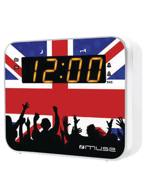 - M-165UK - United Kingdom clock radio, M-165UK