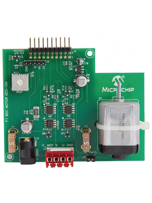 Microchip - DM164130-6 - F1 BDC Motor Add-On -, DM164130-6, Microchip