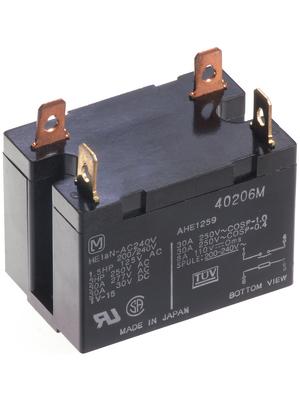 Panasonic - HE2AN-AC24V - PCB power relay 24 VAC 2.7 VA, HE2AN-AC24V, Panasonic