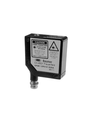 Baumer Electric - OPDM 12P5101/S35A - Photoelectric Sensor 0...8 m PNP, antivalent, 10132220, OPDM 12P5101/S35A, Baumer Electric