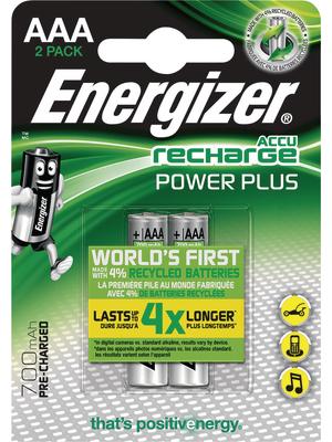 Energizer POWERPLUS AAA 700MAH 2P