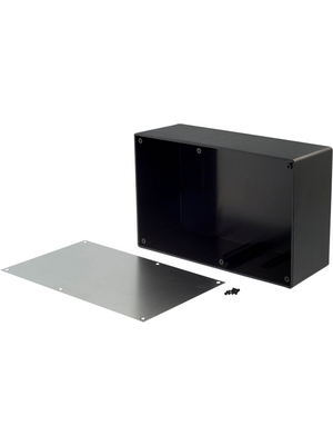 RND Components - RND 455-00105 - Desktop enclosure black 217 x 138 x 82.2 mm ABS N/A, RND 455-00105, RND Components