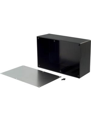 RND Components - RND 455-00105 - Desktop enclosure black 217 x 138 x 82.2 mm ABS N/A, RND 455-00105, RND Components