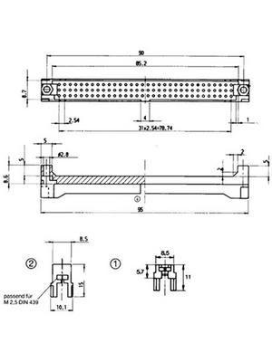 Pentair Schroff - 69001-995 - Locking lever, 69001-995, Pentair Schroff