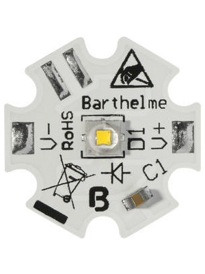 Barthelme - 61003715 - Osram Power LED Star 1 W / 2 W / 6 W daylight, 61003715, Barthelme
