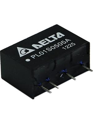 Delta-Electronics - PL01S2412A - DC/DC converter 18...36 VDC 12 VDC, PL01S2412A, Delta-Electronics
