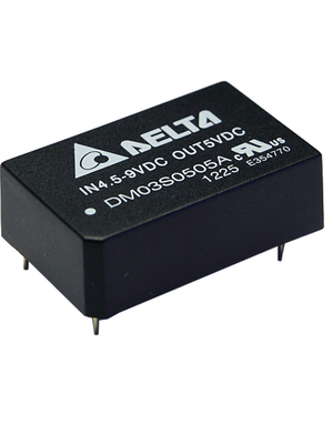 Delta-Electronics - DM03S2424A - DC/DC converter 18...36 VDC 24 VDC, DM03S2424A, Delta-Electronics