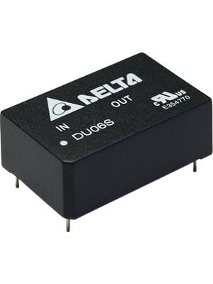 Delta-Electronics - DU06S1205A - DC/DC converter 9...18 VDC 5 VDC, DU06S1205A, Delta-Electronics