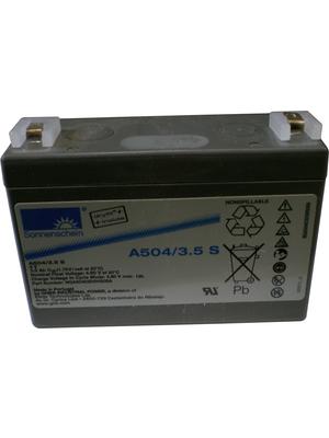 Exide - A504 / 3,5 S - 铅酸电池4 V 3.5 Ah,A504 / 3,5 S,Exide