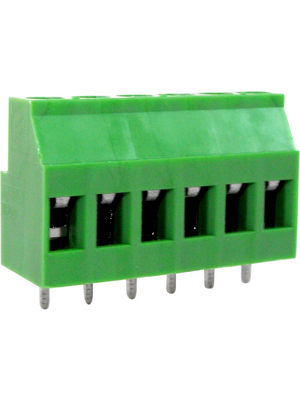 RND Connect - RND 205-00291 - PCB Terminal Block Pitch 5.08 mm horizontal 6P, RND 205-00291, RND Connect