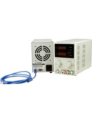 RND Lab - RND 320-KD3005P - Laboratory Power Supply 1 Ch. 0...30 VDC 5 A, Programmable, RND 320-KD3005P, RND Lab