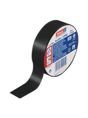 Tesa - 53948 15MM X 10 M BLACK - Electrical insulation tape black 15 mmx10 m, 53948 15MM X 10 M BLACK, Tesa