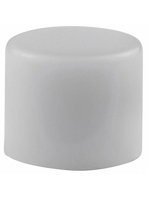 NKK - AT442B - Button 10 x 8 mm white, AT442B, NKK