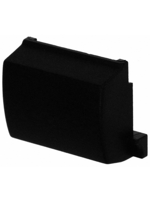 MEC - 1B09 - Cap for housing black 12.6x9.5x5 mm, 1B09, MEC