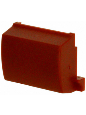 MEC - 1B08 - Cap for housing red 12.6x9.5x5 mm, 1B08, MEC