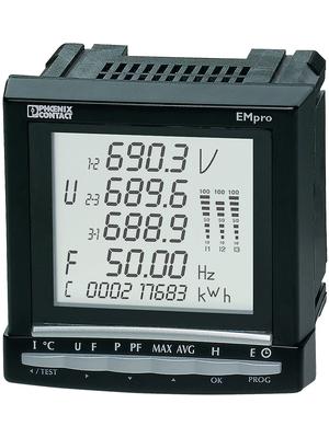 Phoenix Contact - EEM-MA600 - Energy meter 1-/2-/3-phase 110...400 VAC, 120...350 VDC 700 VAC 5 A, EEM-MA600, Phoenix Contact