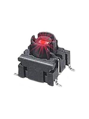 MEC - 4FSH982 - Board switch LED red 24 VDC 50 mA Red, 25 mA 2.0 V SMD, 4FSH982, MEC