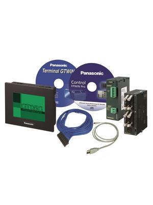 Panasonic - KITGT05FP0RC32P - PLC/HMI Starter Kit, 16 DI, 6 HS, 16 TO, KITGT05FP0RC32P, Panasonic