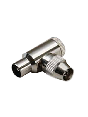 BKL Electronic - 5HQ - Coaxial bent plug, completely screened as per BTZ1R8.15, 5HQ, BKL Electronic