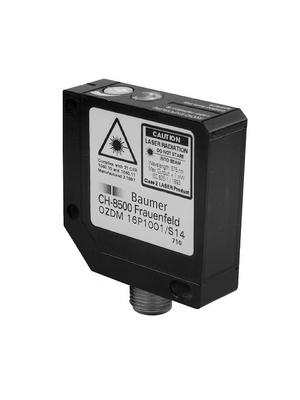 Baumer Electric - OZDM 16P1001/S14 - Photoelectric Sensor 0...250 mm PNP, light operate, 10119729, OZDM 16P1001/S14, Baumer Electric