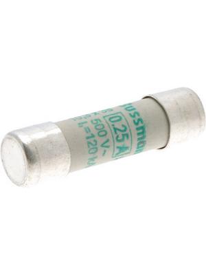 Eaton - C10M0-25 - Fuse10 x 38 mm,500 VAC,0.25 A 0.25 A Slow-blow Bussmann, C10M0-25, Eaton