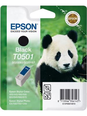 Epson - C13T05014010 - Ink T0501 black, C13T05014010, Epson