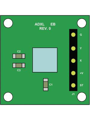 Analog Devices - EVAL-ADXL335Z - Development kit, EVAL-ADXL335Z, Analog Devices