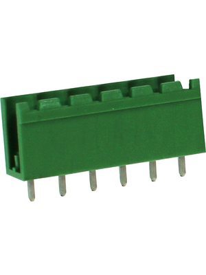 RND Connect - RND 205-00412 - Male Header THT Solder Pin [PCB, Through-Hole] 6P, RND 205-00412, RND Connect