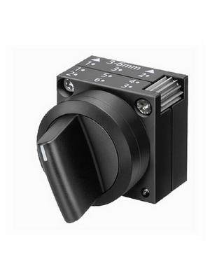Siemens - 3SB3000-2KA11 - Selector Switch 0-I, Plastic,black, 3SB3000-2KA11, Siemens
