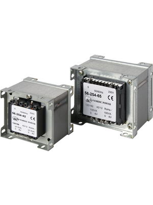 Nordic Power - 120164 - Universal transformer 230 VAC 24 VAC (2x) 75 VA, 120164, Nordic Power