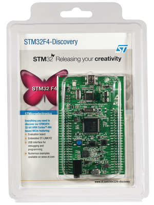 ST - STM32F4DISCOVERY - Development tool for STM32F4 ARM PC hosted mode USB, STM32F4DISCOVERY, ST