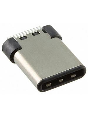 Amphenol - 12401562E4#2A - Plug, straight USB 3.1 C 24P, 12401562E4#2A, Amphenol