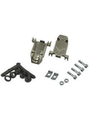 3M - 3357-6209-1C - D-Sub metallized hood 9P, 3357-6209-1C, 3M