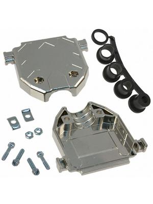 3M - 3357-6225-1C - D-Sub metallized hood 25P, 3357-6225-1C, 3M